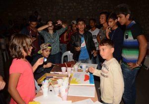 Εκδήλωση για τους πρόσφυγες που φιλοξενούνται στην Μυρσίνη Ηλείας