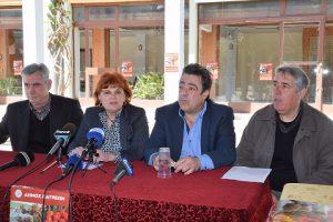Συνέντευξη Τύπου για το πασχαλινό τραπέζι του Δήμου την Κυριακή του Πάσχα στο Λαϊκό Στέκι
